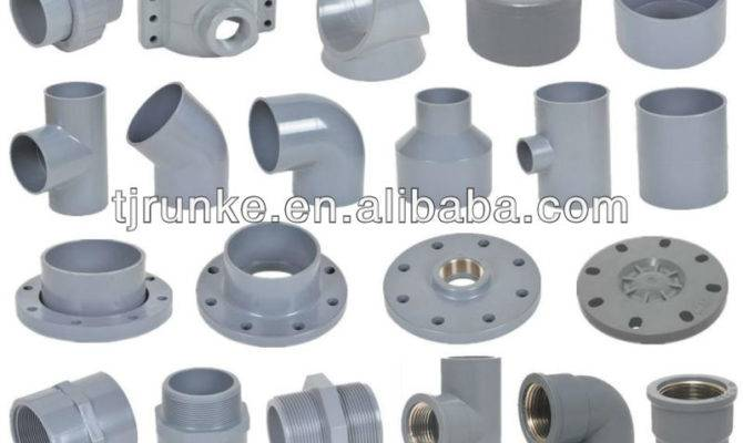 Plastic Pipe Joint Pvc Fittings Water Supply Din