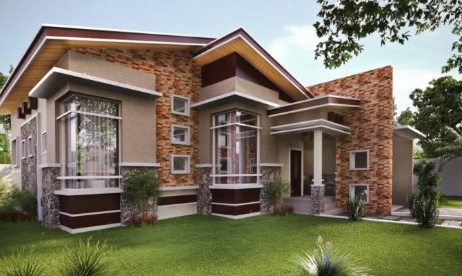 Pleasant Modern Bungalow House Plan