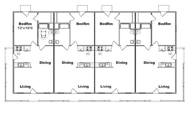 Plex Apartment Building Plans
