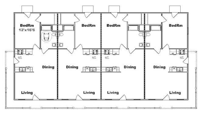 Plex Apartment Building Plans