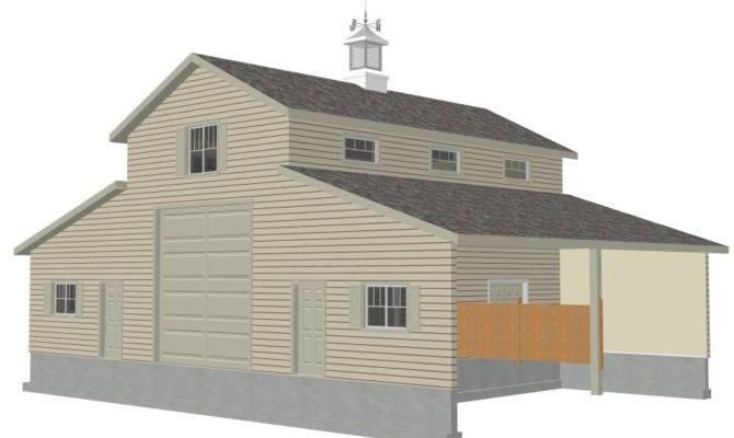 Pole Barn Blueprint Plans