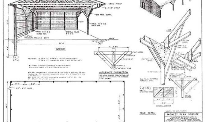 Pole Barn Plans Designs Can Actually Build