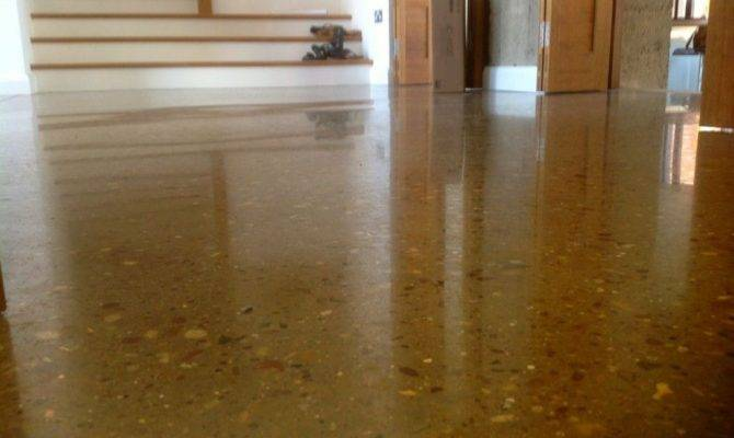 Polished Concrete Floor Grand Designs