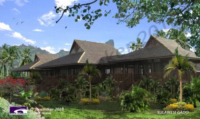 Polynesian House Plans Pole Custom Homes