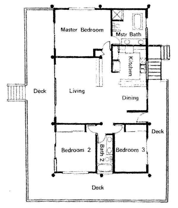 polynesian pole custom homes house plans 155604