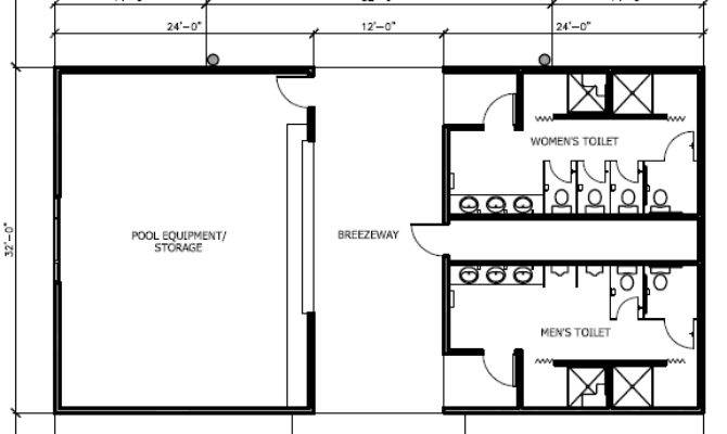 Pool Bath House Plans Florida Lanai
