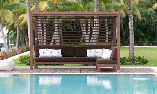 Pool Cabana Custom Design Installation Shadefla