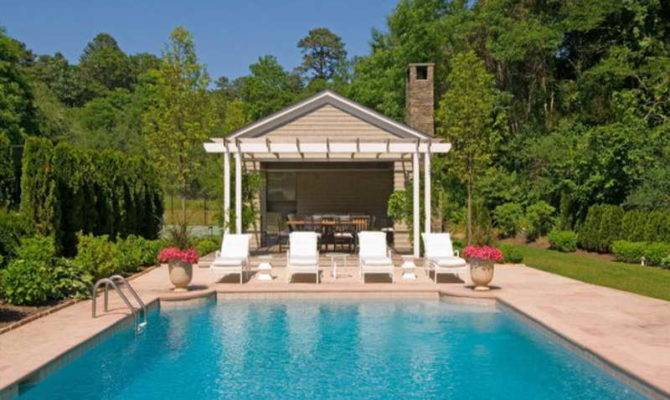 Pool House Designs Luxury Home Plans Photos Large