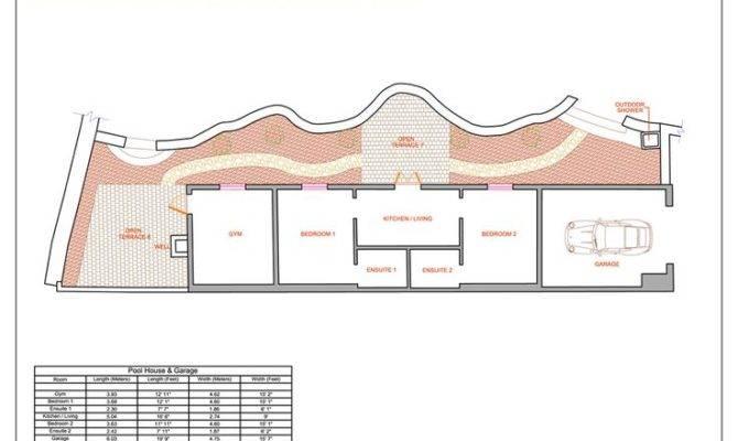 Pool House Floor Plans Home Design