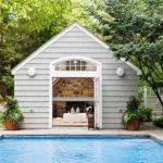 Pool House Interior Designs Simple