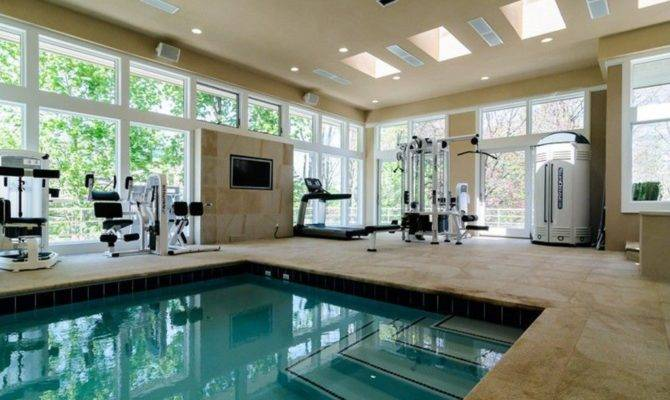 Pool House Plans Indoor Swimming Second Sun