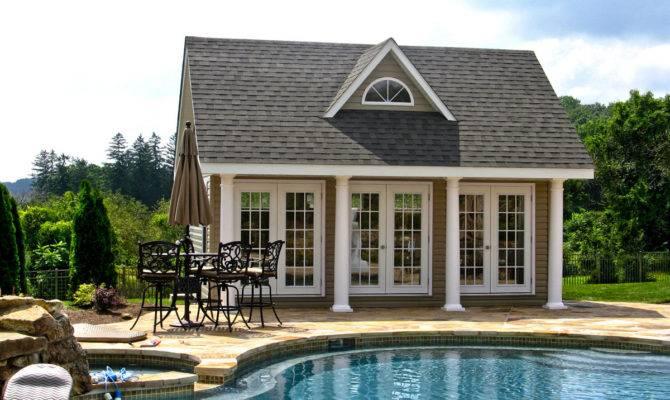 Pool Houses Cabanas Sheds Side Bars