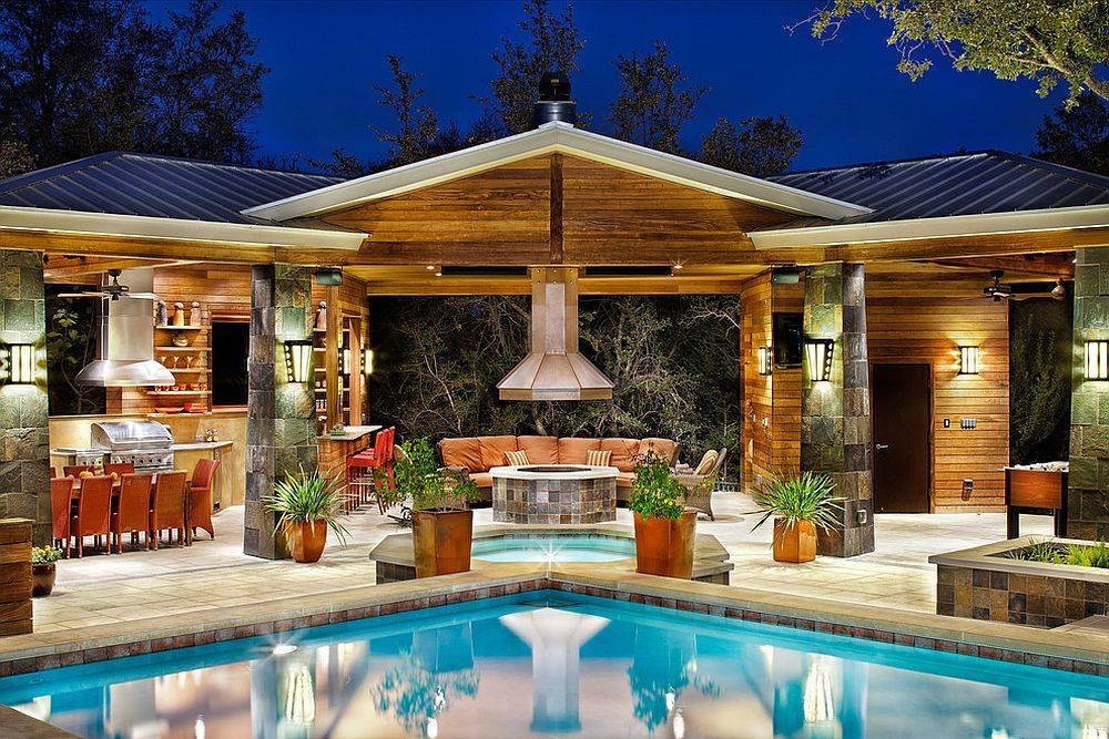 Pool Houses Complete Your Dream Backyard Retreat House Plans