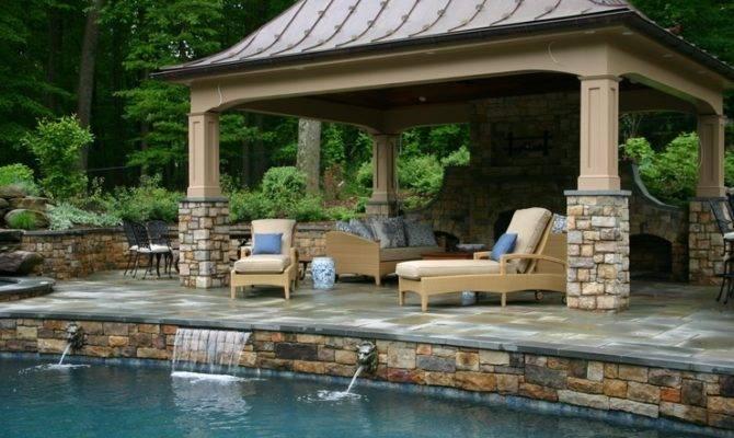 Pool Houses Rowan Landscape Pools