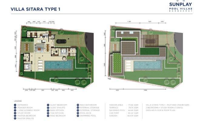 Pool Villas Floor Plans Sunplay