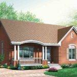Popular Brick House Plan Alternates