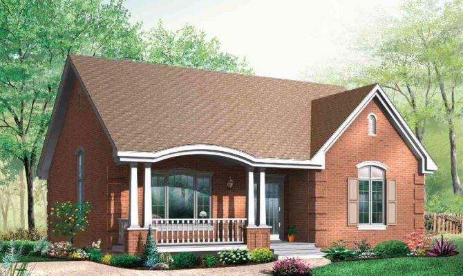 Popular Brick House Plan Alternates