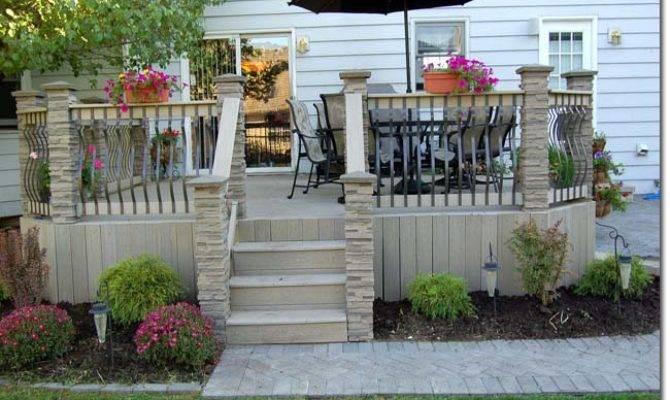 Popular Deck Design Ideas Multilevel Decks Highlight Your