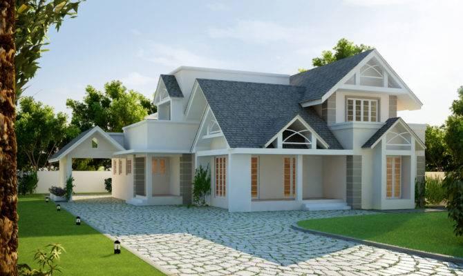 Popular European House Style Architecture
