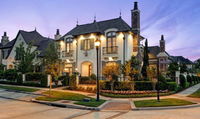 Popular French Provincial Style House Design