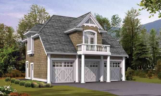 Popular Ideas Garage Apartment Plans Balcony