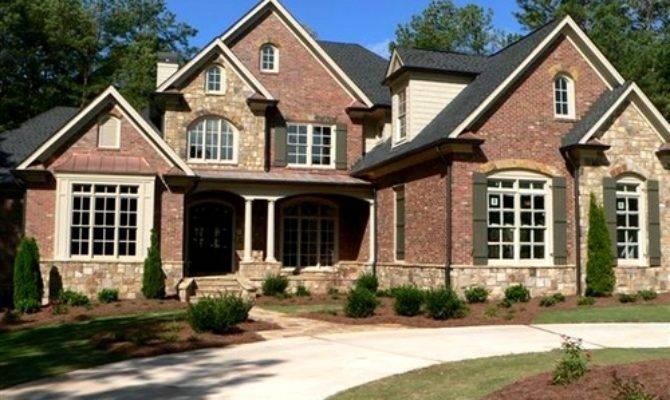 Popular Stone Brick Exterior Homes House