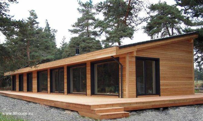 Por Son Populares Casas Madera Arquitectura