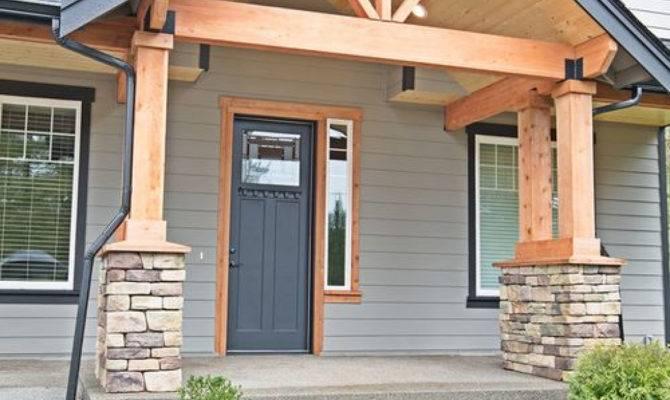 Porch Best Craftsman Front Porches Ideas