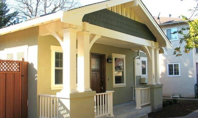 Porch Ceiling All Common Elements Bungalow Design Front