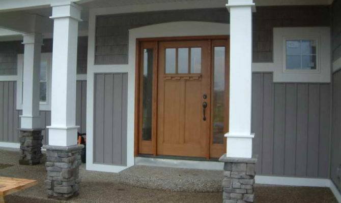 Porch Columns Front Porches Photos House Round