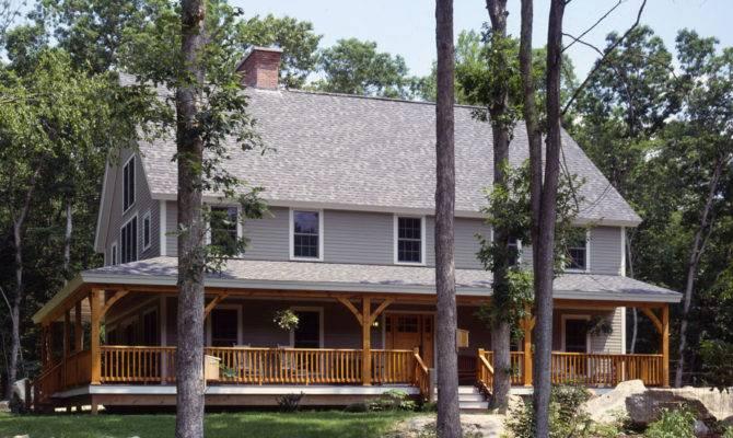 Porch Deep Wrap Around House Plans Home