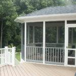 Porch Existing Deck Patio Decks Porches Raleigh