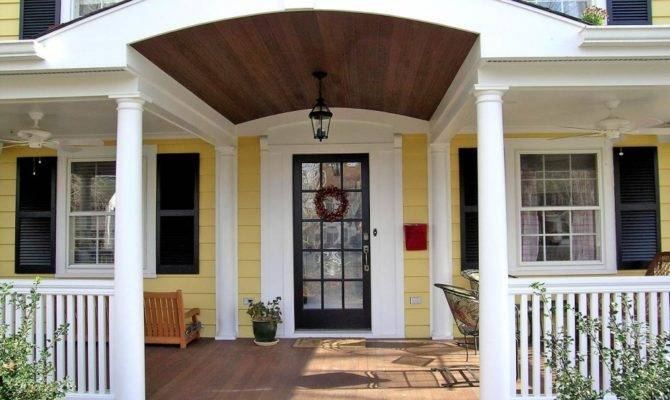 Porch Home Designs Design Style
