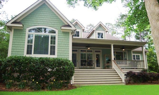 Porch Idea Could Raised Ranch House Plans Pinterest