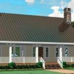 Porch Open Floor Plan House Plans Home