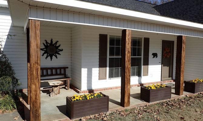Porch Post Ideas Faux Wood Workshop