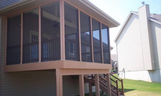 Porch Potty Porches Wrap Around House Plans