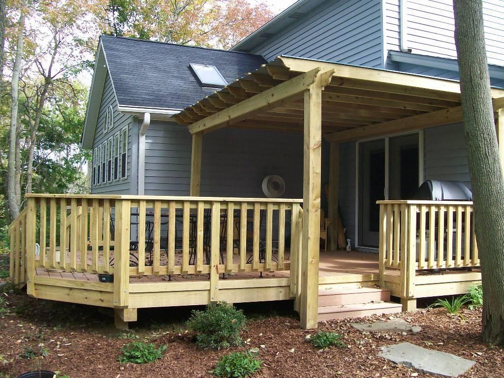 Picture of: Porch Railing Designs Wood House Plans 152432