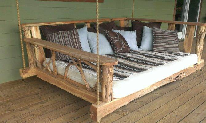 Porch Swing Bed Plans