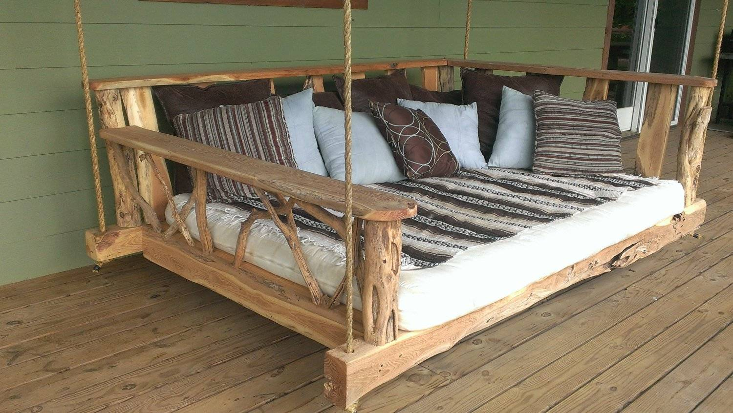 Picture of: Porch Swing Bed Plans House Plans 87480