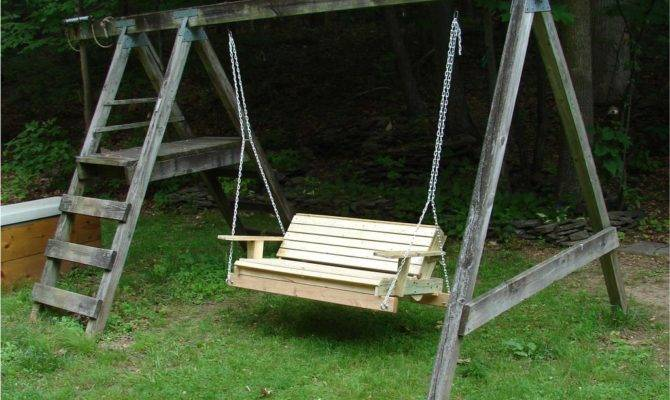 Porch Swing Chair Acs Html Set Hanging Well