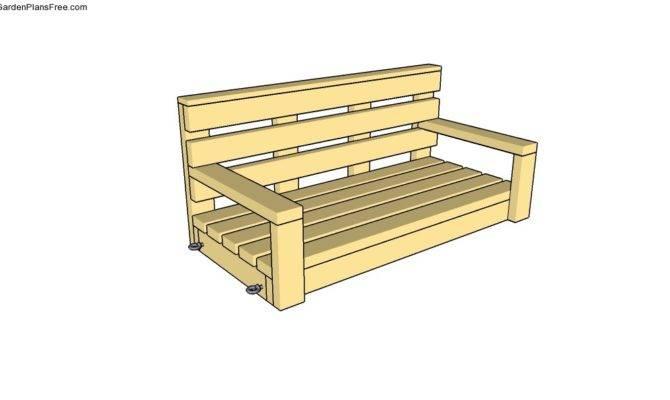 Porch Swing Drawings Joy Studio Design Best