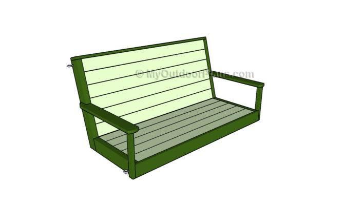 Porch Swing Plans Myoutdoorplans Woodworking