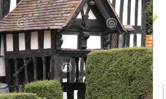 Porch Traditional English Cottage