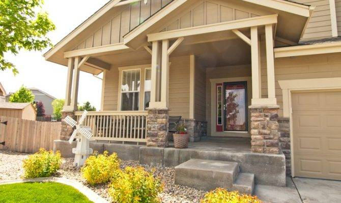 Porches Mobile Homes Spacious Covered Front Porch Rogers
