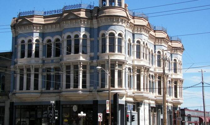 Port Townsend Historic Victorian Style Building