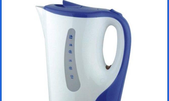 Portable Hot Water Kettle Detachable Plastic Electric