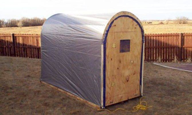 Portable Ice House Plans Fishingbuddy