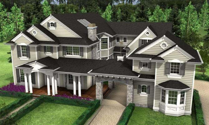 Porte Cochere House Plans Home