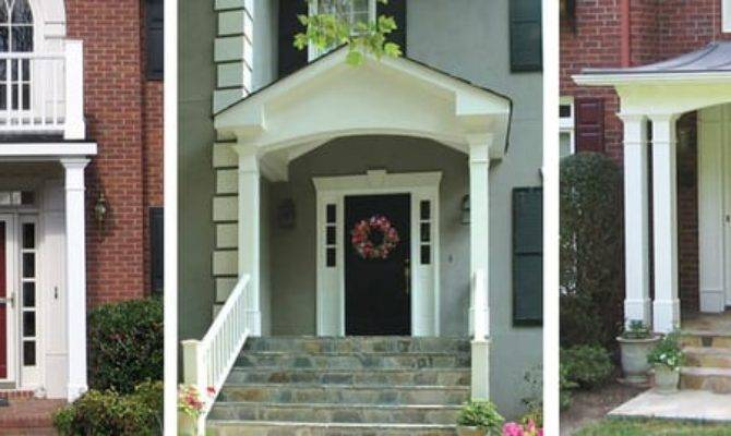 Portico Roof Styles Your Home